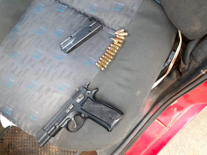 Unlicensed Firearm confiscated by the police in Mopani District